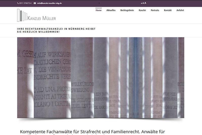 Kanzlei Müller in Nürnberg